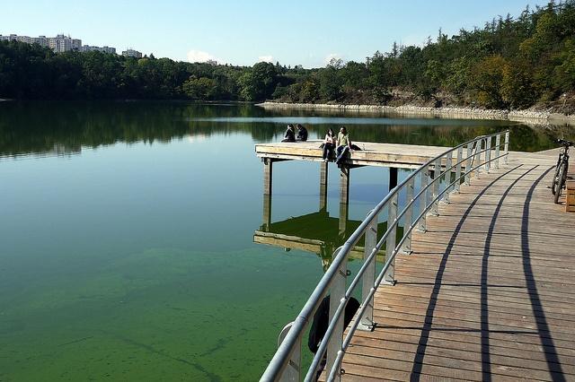 Hostivařská přehrada - nové molo by kozusnik.eu, via Flickr