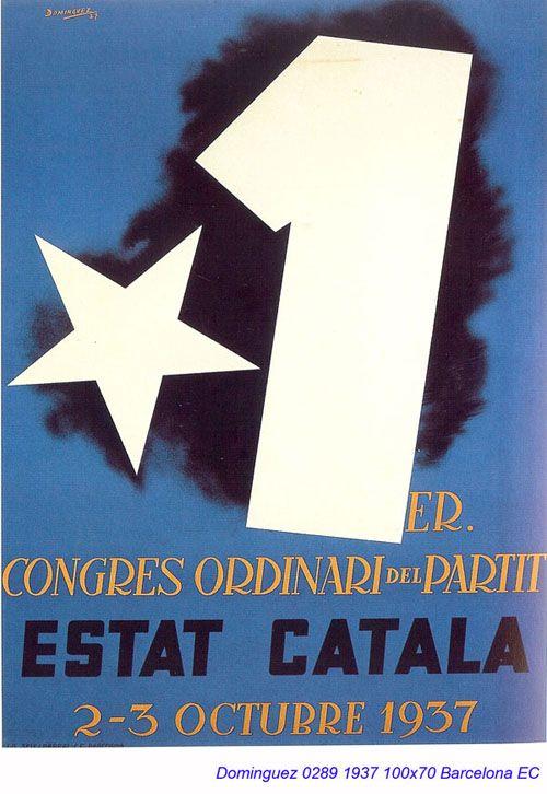 Spain - 1937. - GC - poster - autor: Jose Dominguez Bermejo