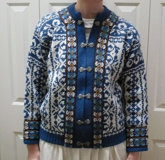 A S Evebofoss Norwegian Royal Blue wool by ConcealedTreasures