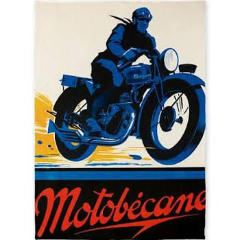 retro motorbike poster - Google Search