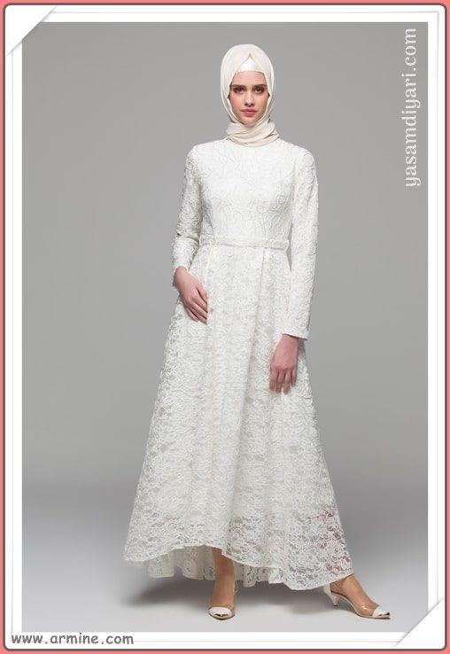 6e79ae2e0807b Yeni sezonun en güzel tesettür abiye elbise modelleri bu sezonda sizleri  Armine de bekliyor. Armine