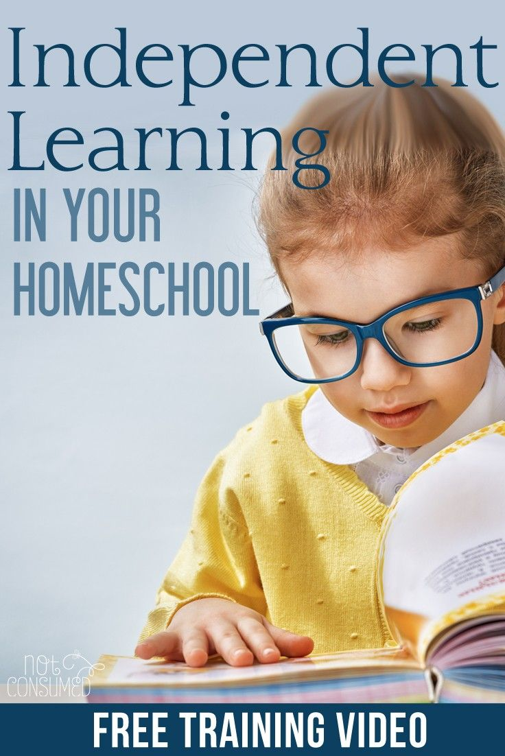 """People often wonder how I homeschool 4 kids, work full-time, and wear the title of """"single mom."""" Well there's no magic here, but I will tell you that training my kids to be independent learners is a huge part of our success. Ready to revolutionize your homeschool? You'll love this FREE video!"""