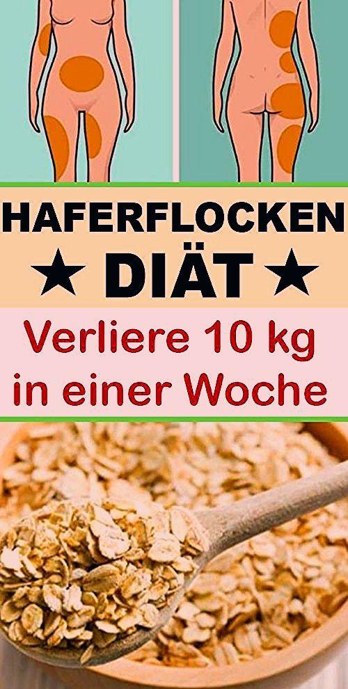 Bis 10 Pfund in einer Woche verlieren durch den 7-Tage-Haferflocken-Diätplan - Hogmag