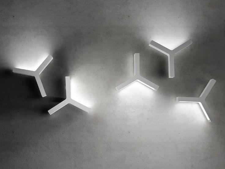 Applique a LED a luce indiretta LAYPSILON - Olev by CLM Illuminazione