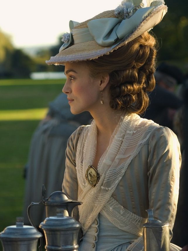 "the-garden-of-delights: ""Keira Knightley as Georgiana, Duchess of Devonshire in The Duchess (2008). """