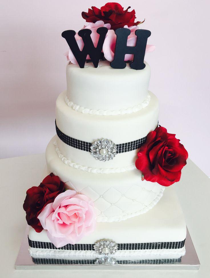3 Tier Wedding Cake #Dvas #Cambridge