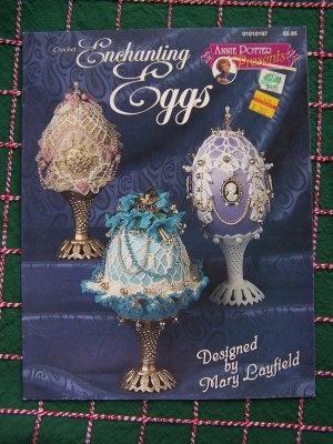Annie Potter Presents Crochet Pattern Book Decorative Enchanting Eggs 6 Patterns: $8.00Crochet Pattern