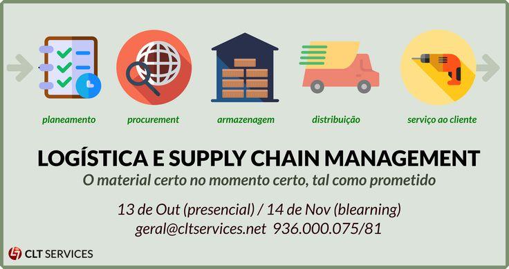 A Logística e a Gestão da Cadeia de Fornecimento (SCM) fazem parte das áreas de maior crescimento em termos de empregabilidade. A formação neste domínio é para a CLT Valuebased Services uma aposta estratégica. http://www.cltservices.net/formacao/mbas/logistica-e-supply-chain-management