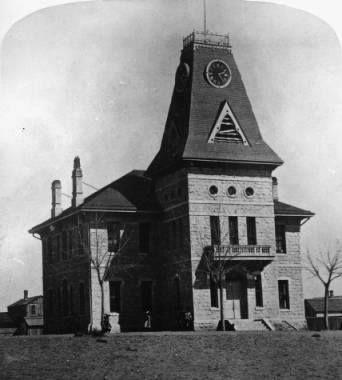 1st Colorado Springs High School ~ 1873