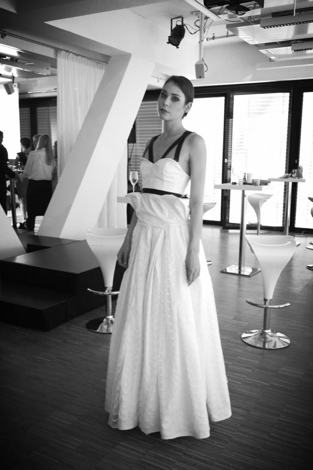 http://eleonoragendelman.tumblr.com/ @ Upside East Munich Fashion Show  #fashion #show #white #dress