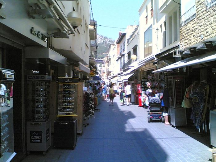L'Estartit, calle Santa Anna