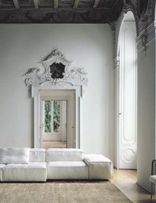 weisser venezianischer Palazzo