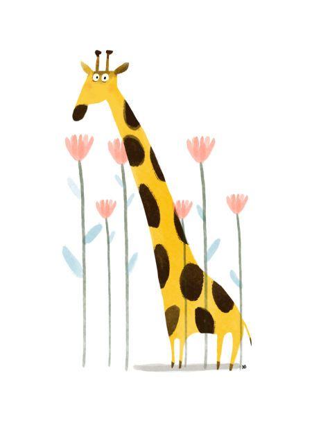 Nikki Dyson - Giraffe Card_Nikki Dyson