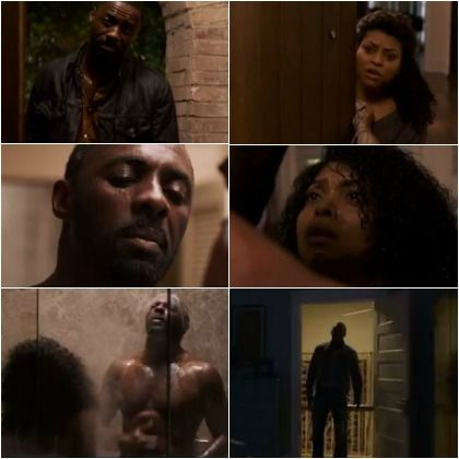 """""""No Good Deed"""" is a very dark thriller, and everyone's play husband, Idris Elba, plays the villain. Taraji P. Henson is his prey, who refuses to be a victim"""