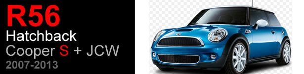 OutMotoring offers a wide selection of performance upgrade parts and accessories as well as a complete listing of repair and replacement parts for the R56S MINI Cooper Hatchback S 2007, 2008, 2009, 2010, 2011, 2012 and 2013 model years.    Whether you're looking to maintain your MINI with OEM parts or want to prep for the next car show, race or meet we've got the performance tuning, maintenance parts, and accessories your MINI needs. Whether you prefer the stock look - just how it...
