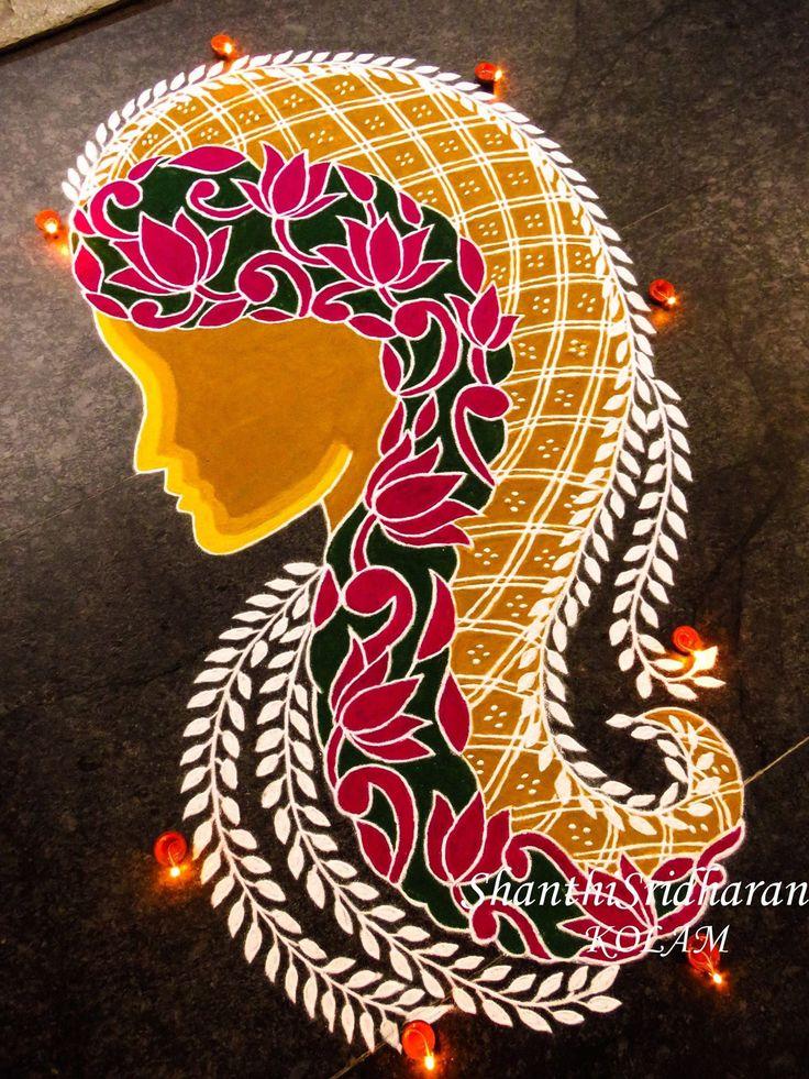 #womenday#BeBoldForChange#womendayimage#kolam#rangoli