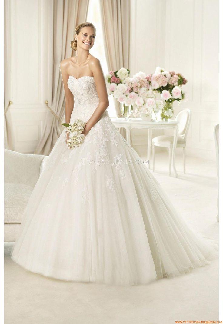 vestidos de novia elegantes corte princesa - Buscar con Google