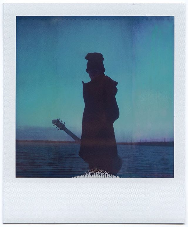 Portrait of a musician. Browsing through my old Polaroids...