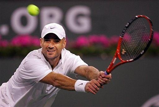 Andre Agassi. My tennis hero!