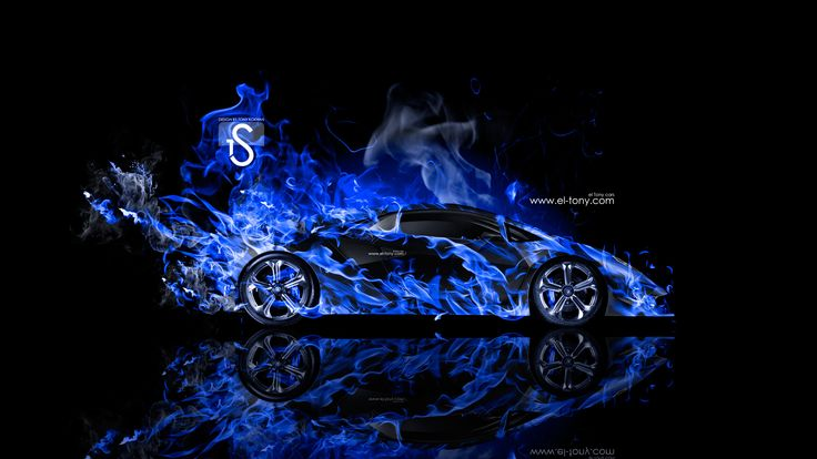 Blue Lamborghini Wallpaper Full Hd