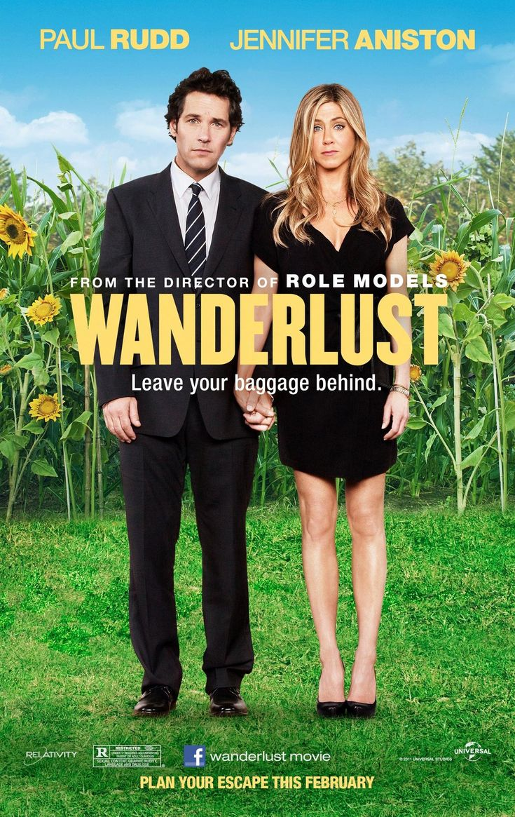 """""""Wanderlust."""" It's a decent movie, but I recommend it solely because of the bathroom mirror scene with Paul Rudd. I don't remember the last time I laughed so hard because of a movie!!!"""