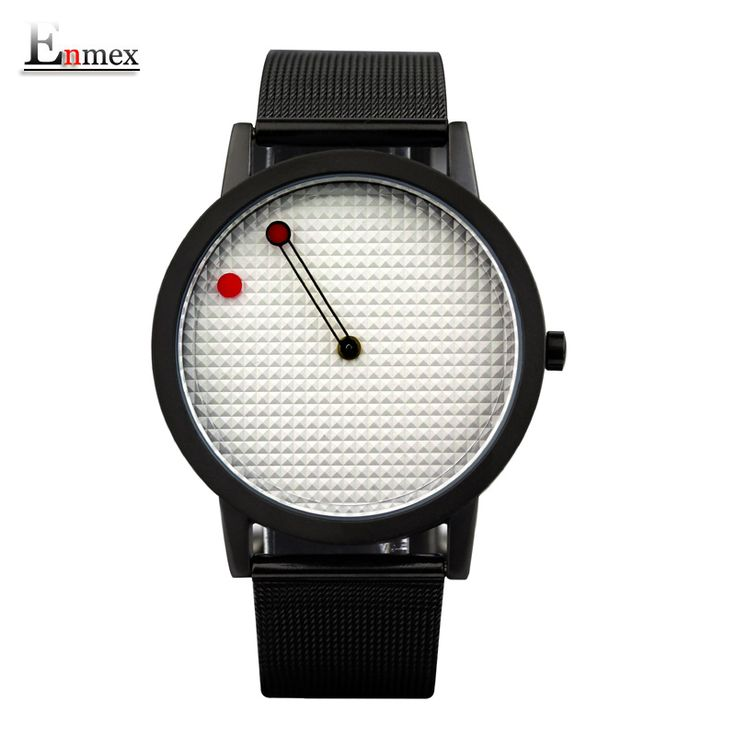 $9.92 (Buy here: https://alitems.com/g/1e8d114494ebda23ff8b16525dc3e8/?i=5&ulp=https%3A%2F%2Fwww.aliexpress.com%2Fitem%2F2016-men-gift-Enmex-brief-steel-band-creative-geometric-designs-Floating-pointer-3D-dail-with-young%2F32734743447.html ) 2016 men gift Enmex brief steel band creative geometric designs Floating pointer 3D dail with  young fashion quartz watches for just $9.92
