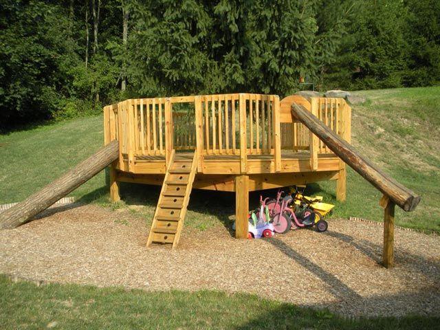 82 best Playground ideas images on Pinterest | Outdoor clroom ... Fort Playground Ideas Backyard on playhouse fort, swing set fort, diy fort, snow fort, build a back yard fort,
