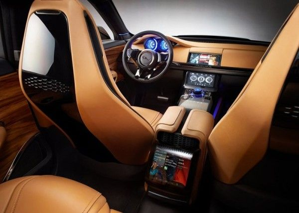 2013 Jaguar C X17 5 Seater Interior 600x429 2013 Jaguar C X17 5 Seater Review, Design, with Images