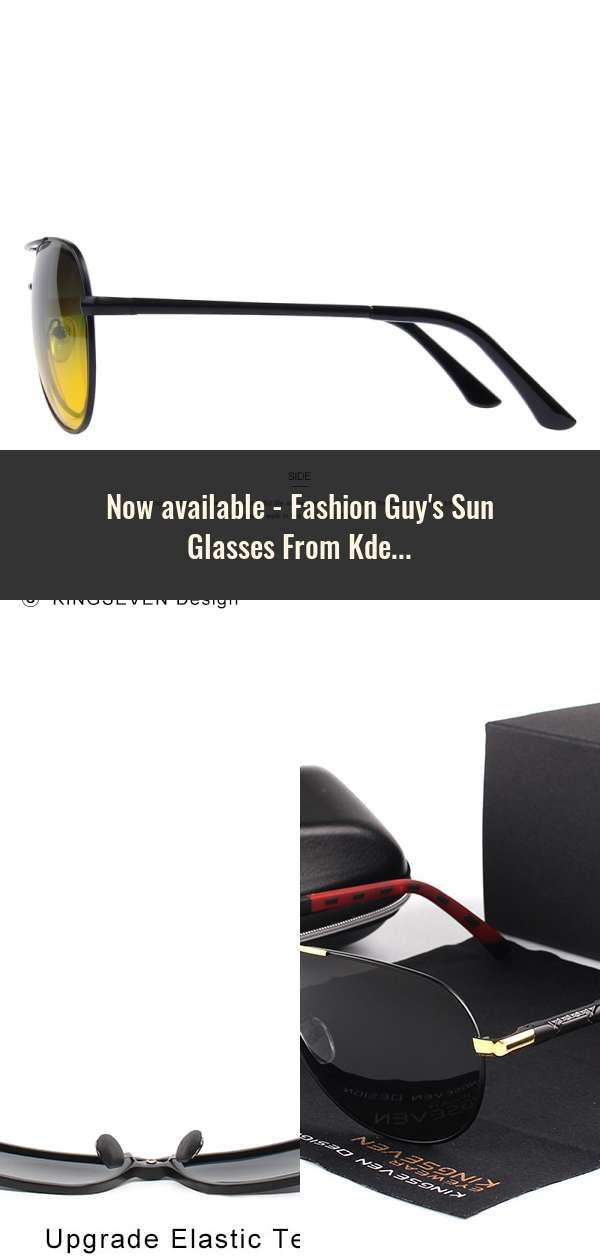 5340c5044e3e5 Fashion Guy s Sun Glasses From Kdeam Polarized Sunglasses Men Classic  Design All-Fit Mirror Sunglass