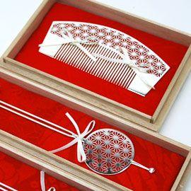 繊細!すごい!!Japanese traditional hair accessory.