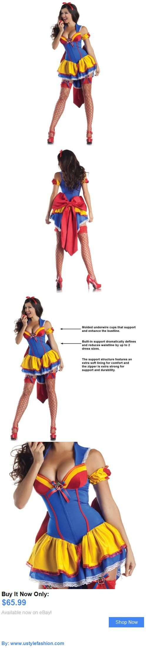 Costumes and reenactment attire: Snow White Costume Adult Sexy Halloween Fancy Dress BUY IT NOW ONLY: $65.99 #ustylefashionCostumesandreenactmentattire OR #ustylefashion