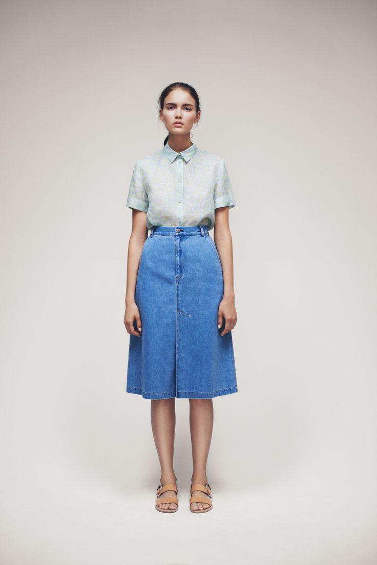 Telli Shirt and Juli Skirt   Samuji SS15 Seasonal Collection