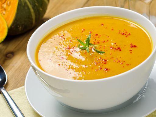 Soupe au curry - Recette de cuisine Marmiton : une recette