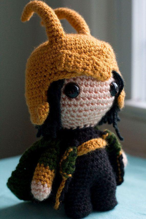 Crochet Amigurumi Loki Plush Doll Pattern This might be ...
