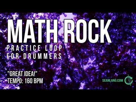 Math Rock - Drumless Track for Drummers -