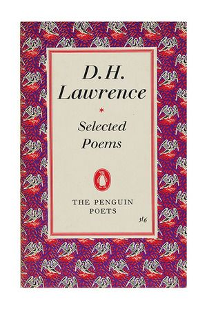 DH Lawrence, Penguin Poets. 1960. Available to buy from www.brindled.co.uk