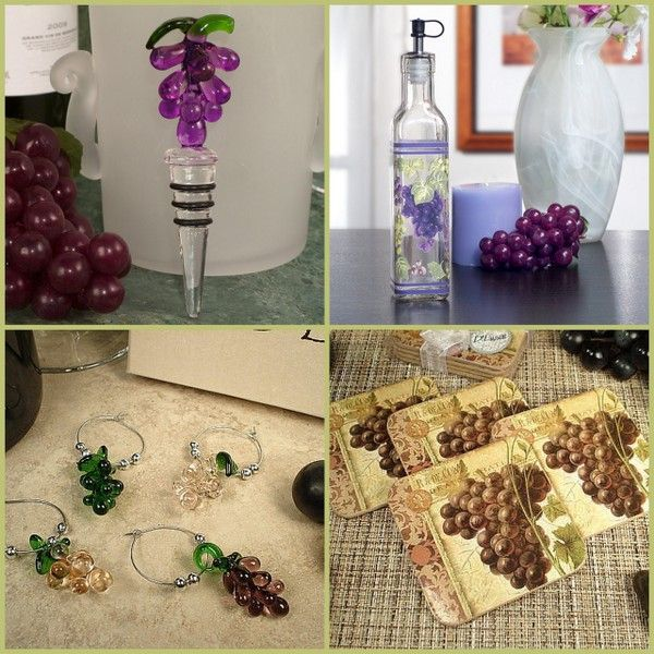 Vineyard Wedding and Party Favors from HotRef.com