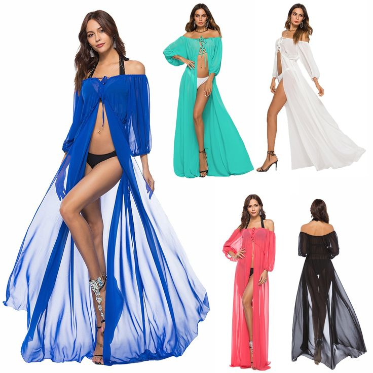 Beach Cover Up Plus Size Saida De Lace Clothing Robe Plage 2019 Bath Suits Women Swimsuit Pure Color Sexy Dress Brought Chiffon [orc32961364007] – $52.85