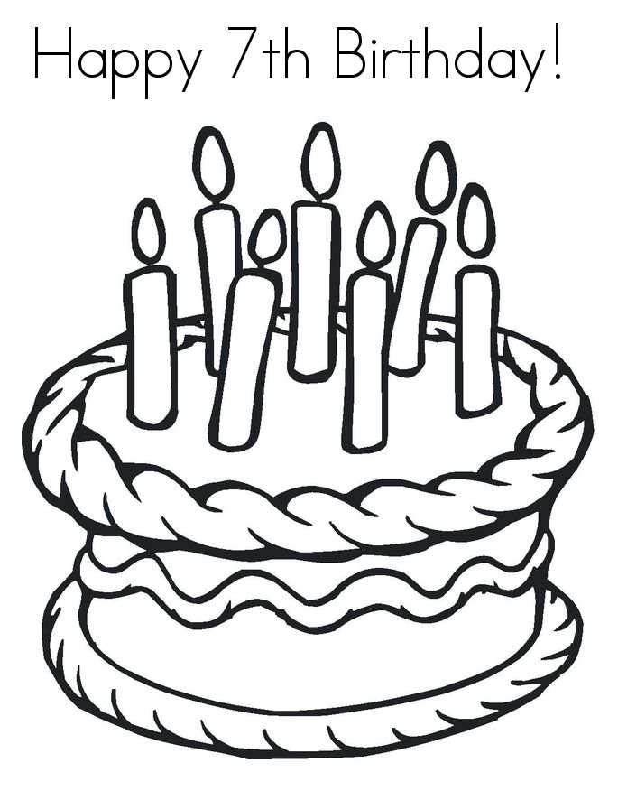 find this pin and more on birthday happy birthday coloring pages