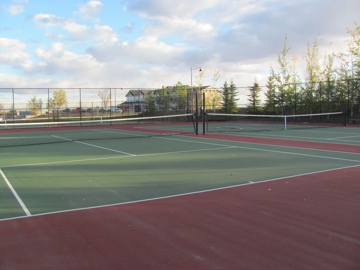 Great tennis courts!