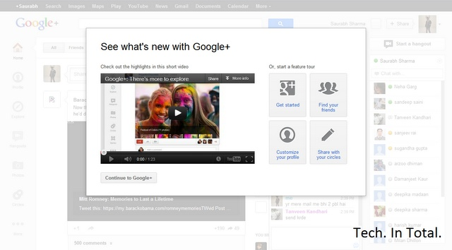 Tech. In Total.: Google unveils a 'more beautiful' Google+ http://t-in-t.tk/HK6kBz