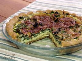 A French dish with Italian inspiration, Quiche Florentine is an elegant, yet easy, spring-inspired dish.