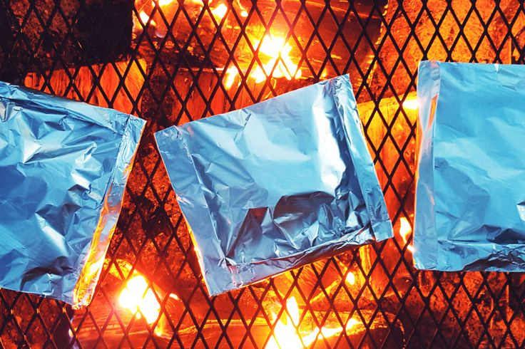 The secret to the cooking here is making sure your packs are super-sealed. If any steam escapes, the meat and veggies will burn or dry out before they're even fully cooked.