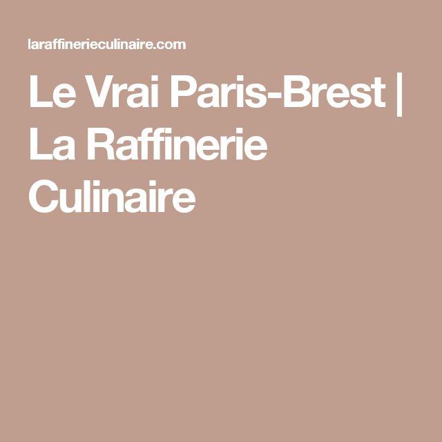 Le Vrai Paris-Brest | La Raffinerie Culinaire