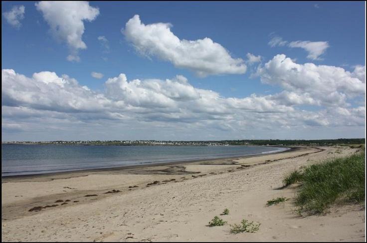 Dominion Beach. Cape Breton Island, Nova Scotia