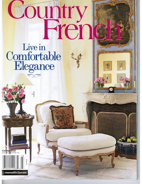 french country living magazine French Country Magazine