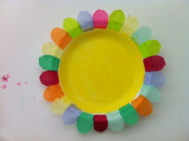 Paper Plate Flowers | Munchkins and Mayhem