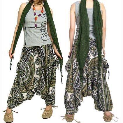 С чем носят штаны индийские