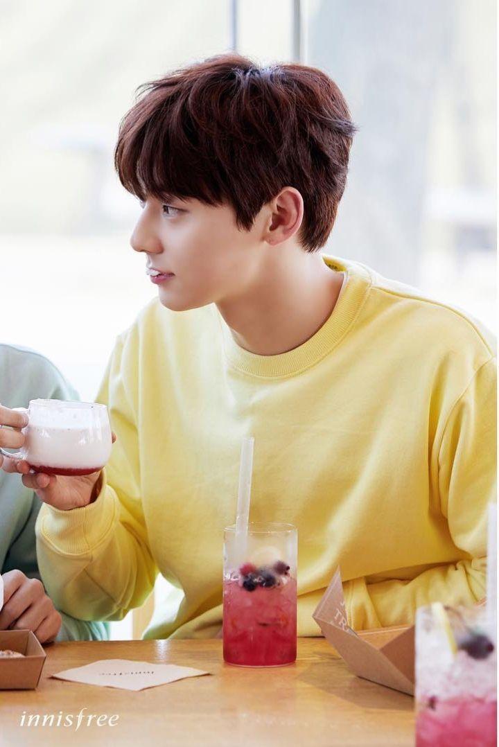 Wanna One Innisfree Photoshoot Minhyun
