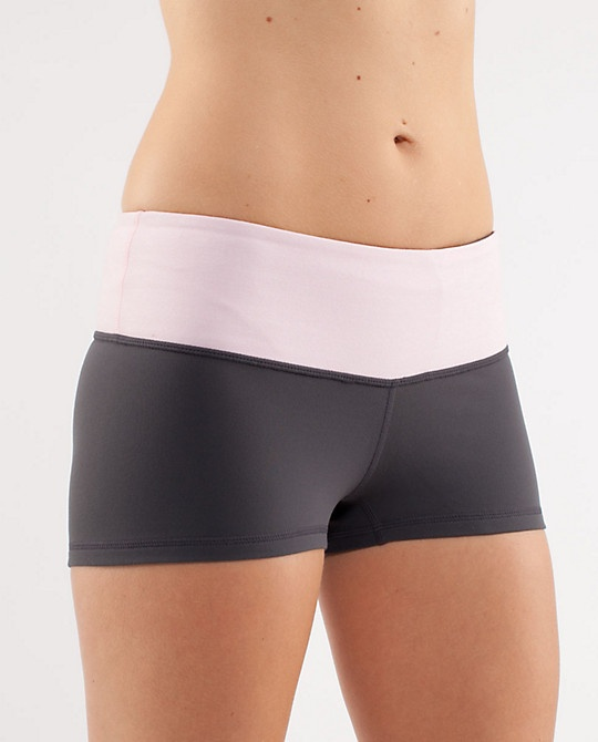 Boogie Short in Coal/Heathered Pig Pink  $42.00
